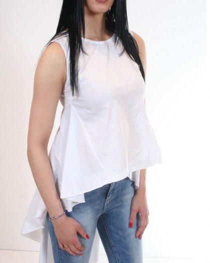 ΜΠΛΟΥΖΑ ΑΜΑΝΙΚΙ ΜΕ ΟΥΡΑ ΛΕΥΚΟ ΜΠΛΟΥΖΑ - Vardakis Shop Ioannina e50bcf74d3c