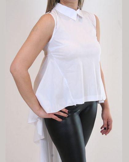 ΠΟΥΚΑΜΙΣΟ ΑΜΑΝΙΚΟ ΟΥΡΑ ΠΙΣΩ ΛΕΥΚΟ ΠΟΥΚΑΜΙΣΟ - Vardakis Shop Ioannina 9fbe3bf5d51